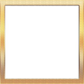 Gold Square Frame PNG images