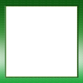 Green Square Frame PNG images