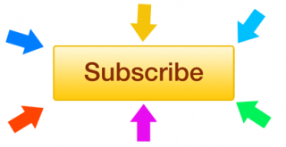 Youtube Subscribe With Arrows Png PNG images