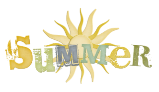 Summer With Sun Logo Png PNG images