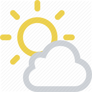 Sunny Download Icon PNG images
