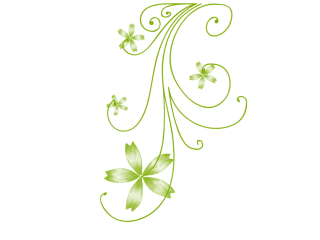 Green Swirls Png PNG images