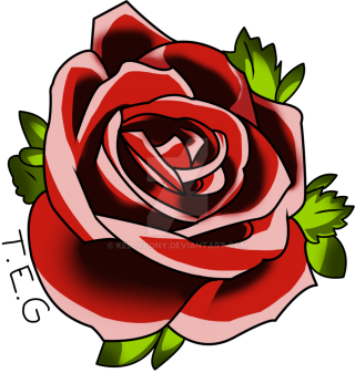 Red Rose Tattoo Png PNG images