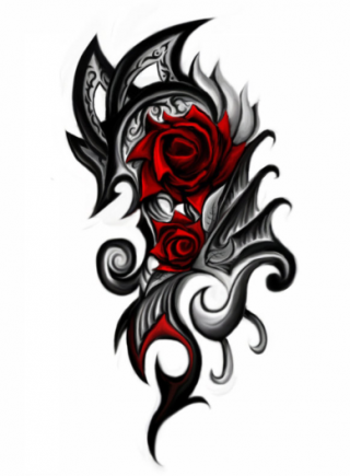 Rose Tattoo Png PNG images
