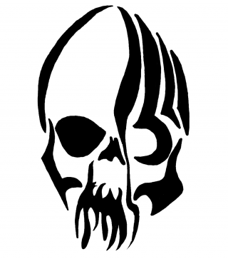 Tribal Skull Tattoos Png PNG images
