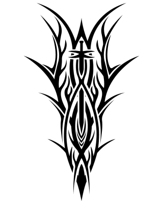 Tribal Tattoos Png PNG images