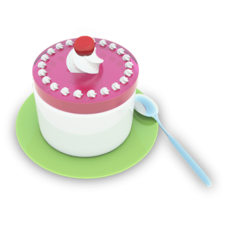 Tea Cake Icon PNG images