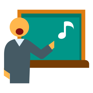 Teacher In Music Lesson Png Clipart PNG images