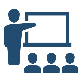 Teacher Using Board Background PNG images