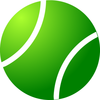 Simple Green Tennis Ball Png PNG images