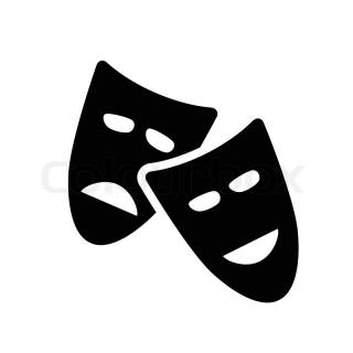 Theatre Black Icon PNG images