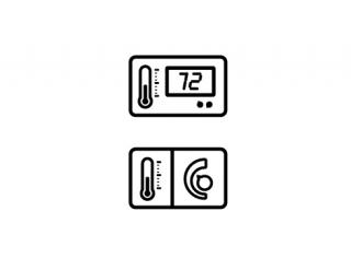 Symbols Thermostat PNG images