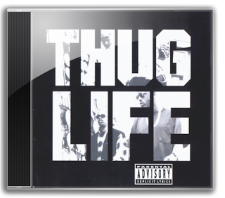Pac Thug Life PNG images
