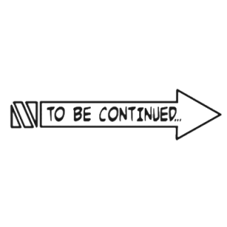 To Be Continued Meme Right Arrow PNG Image PNG images