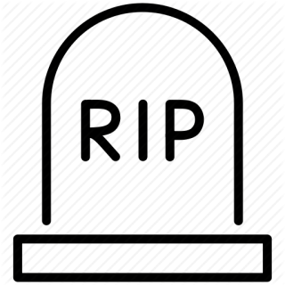 Rip Skull Stop Tomb Icon PNG images