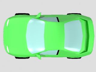 Green Top Car Png PNG images