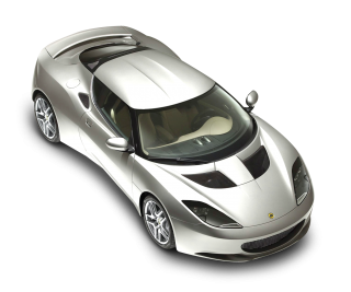 White Sport Car Lotus Top Png PNG images
