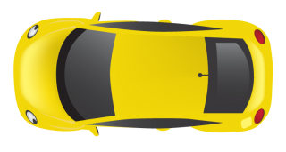 Yellow Top Car Png PNG images