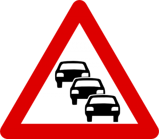 Car, Heavy Traffic, Sign, Traffic Icon PNG images