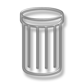 Remove, Rubbish Basket, Trash Can, Trashcan Icon PNG images