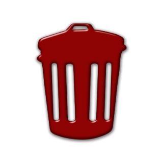 Trash Can Icon Library PNG images
