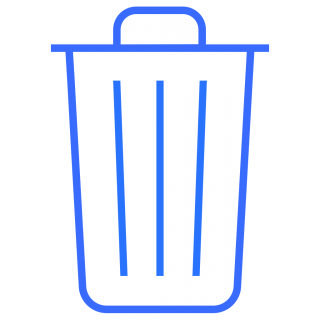 Trash Can Library Icon PNG images