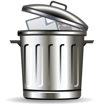 Svg Trash Can Free PNG images