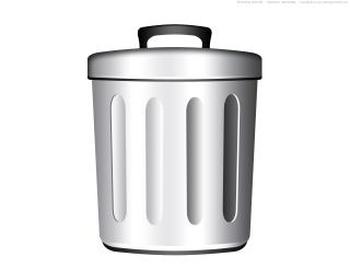 Free Files Trash Can PNG images