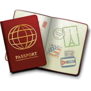Passport Icon PNG images