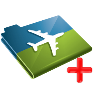 Insurance, Plus, Airplane, Travel Icon PNG images