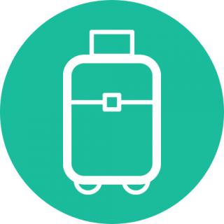 Suitcase Travel Flat Design Travel Icon Png Suitcase Png Suitcase Icon PNG images