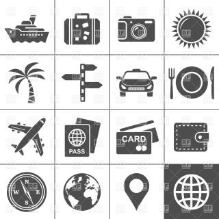 Travel And Tourism Icon Set, 5949, Travel, Download Royalty Free PNG images