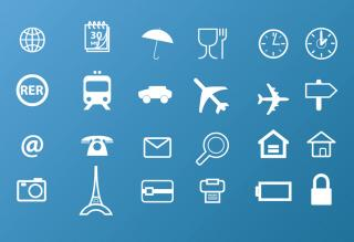 Travel Icons PNG images
