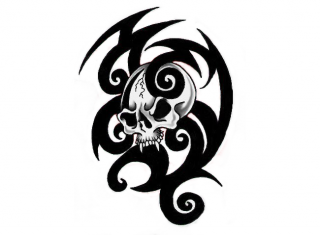 Tribal Skull Tattoos Best Png Clipart PNG images