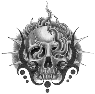 Tribal Skull Tattoos Png Hd PNG images