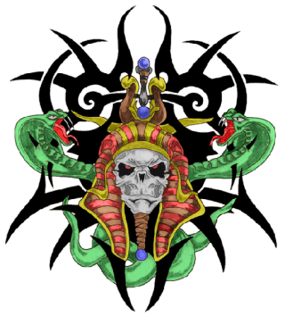 Tribal Skull Tattoos PNG Transparent Images PNG images