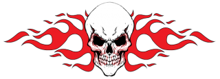 Tribal Skull Tattoos Red Png PNG images