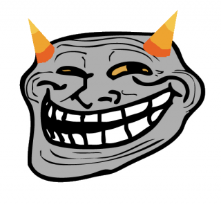 Transparent Image Troll Face PNG PNG images