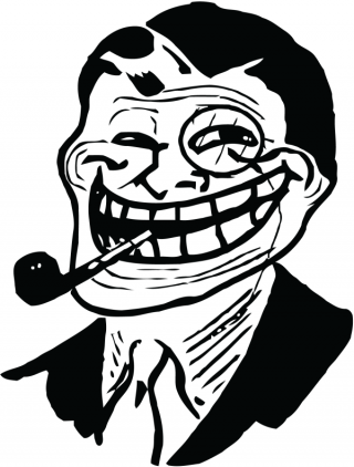 Picture Troll Face PNG PNG images