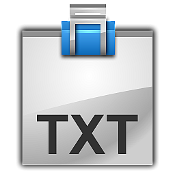 File TXT Icon ToyFactory Icons SoftIconsm PNG images