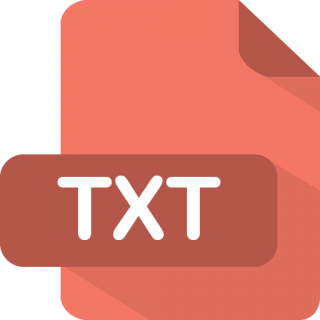 Txt Icon | Flat File Type Iconset | PelFusion PNG images