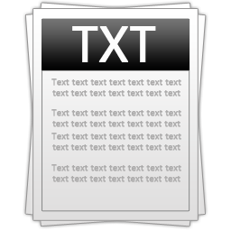 Windows Txt File Icons For PNG images