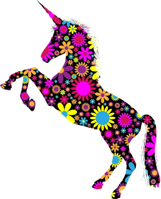 Unicorn Silhouette Png PNG images