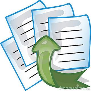 Documents Upload Icon PNG images