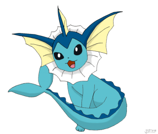 Vaporeon Anime Png PNG images