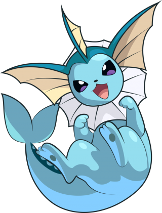 Vaporeon Pokemon Png PNG images