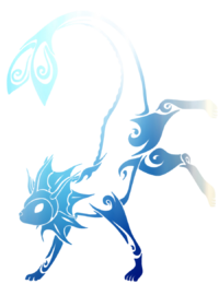 Vaporeon Tribal Png PNG images