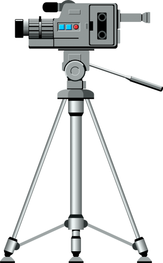 Free Download Of Video Camera On Tripod Icon Clipart PNG images