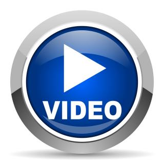 Blue Video Play Icon PNG images