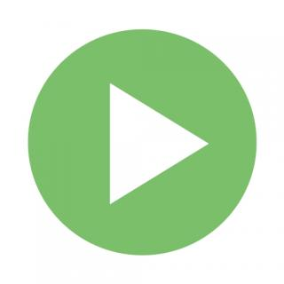 Green Video Play Icon PNG images